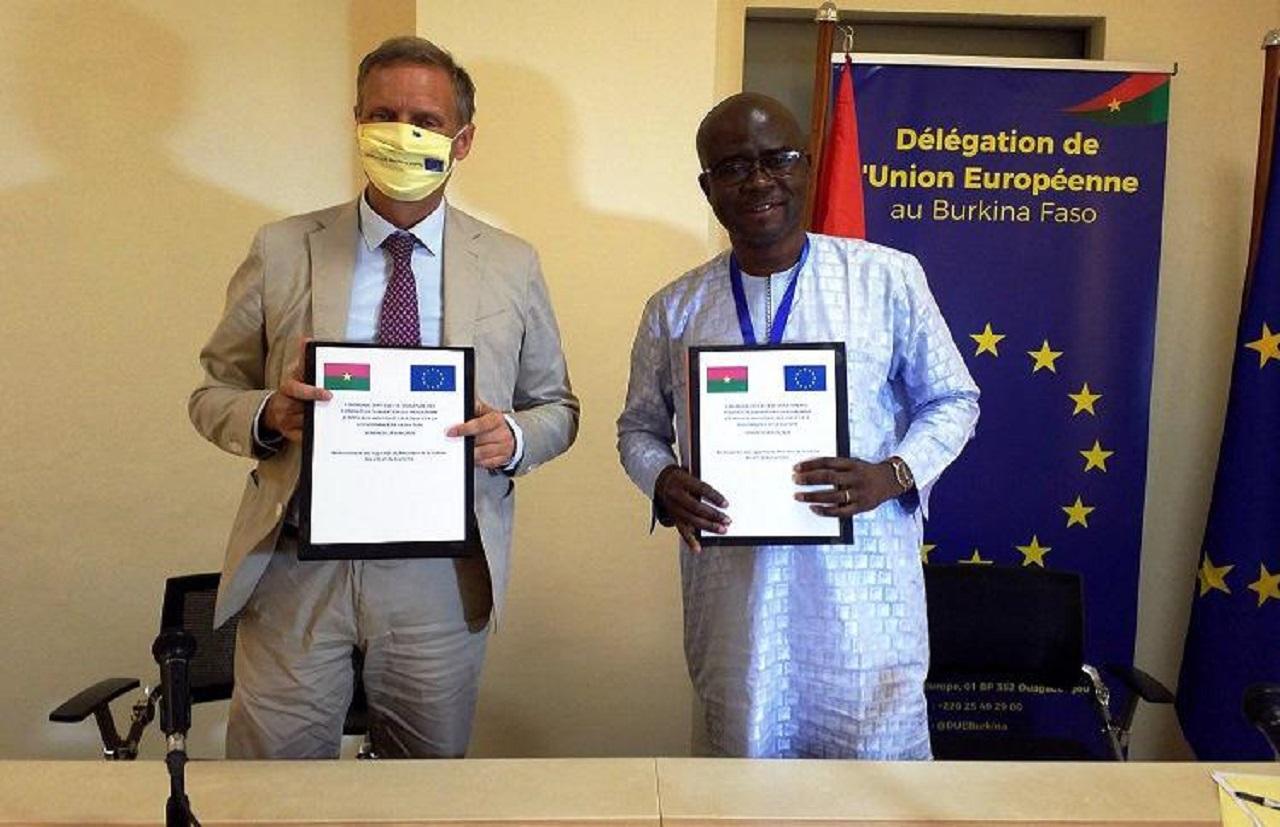 Union européenne-Burkina Faso: trois contrats de subvention signés au profit du secteur culturel