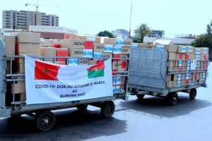 Covid-19: le Maroc appuie le Burkina Faso matériel