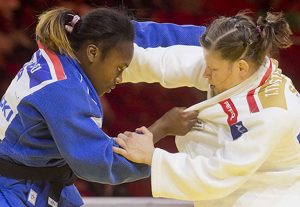 Judo : la passe de cinq pour Clarisse Agbegnenou
